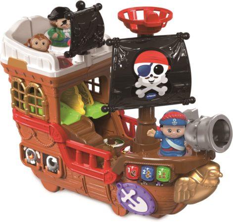 Afbeelding van VTech Vrolijke Vriendjes Piratenschip met Figuren en Geluid