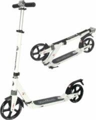 Hyper Motion HyperMotion DRAGSTER - Step Volwassenen Opvouwbaar - Vering - Wit - 100kg - Autoped Grote Wielen