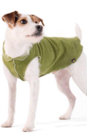 Afbeelding van GoldPaw Series Goldpaw - Stretch Fleece Pullover - Rekbare Hondenjas/Hondentrui - Mos Groen - Maat 24 (>30kg)