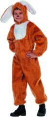 Blauwe Partylook Carnavalskleding dierenkostuum Paas Haas bruin kind Maat 116