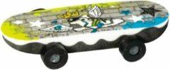 Brunnen Gum Skateboard Schoen Geel/blauw 6 Cm
