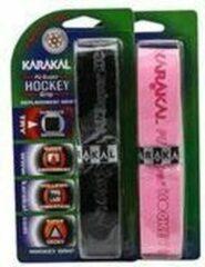 Karakal grips - 2 stuks - zwart en roze