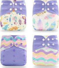 Kidzstore.eu Pocketluier set - veren paars