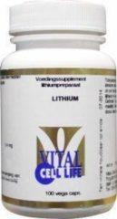 Vital Cell Life Lithium 400 mcg - 100 Capsules