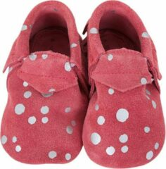 Roze Lait et Miel - Babyslofjes - Leer - 12-18 maanden - Rose Wit