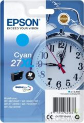 Blauwe EPSON 27XL ink cartridge cyan high capacity 10.4ml 1.100 pages 1-pack RF-AM blister - DURABrite ultra ink