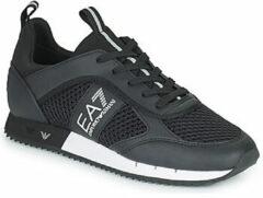 Zwarte Lage Sneakers Emporio Armani EA7 LACES U