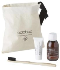 Oolaboo - Super Foodies - Luggage Lovers Dental (Incl. Toothpaste, Mouth Wash + Eco Bamboo Toothbrush)