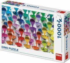 Dino Toys Dino Puzzel Kleuren 1000 stukjes
