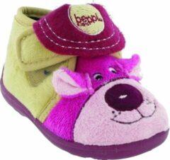 Mirak bungle childrens touch slipper girls slippers childrens slippers roze