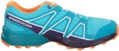 Trail Running-Schuhe Speedcross mit Quicklace J 392387 Salomon Blue Curacao/Acai/Bird of Paradise