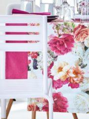 Rosa Tischläufer 'Morris' Apelt pink