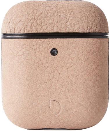 Afbeelding van Roze DECODED AirCase2 – AirPods 1 / 2 Full Grain Leren Case (Rosé)