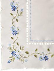Tischwäsche 'Adina' sekt blau bunt