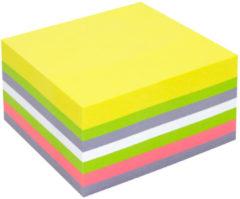 Info Notes IN-5654-80 75x75mm, 400 Blaadjes, 5 Kleuren, FSC.