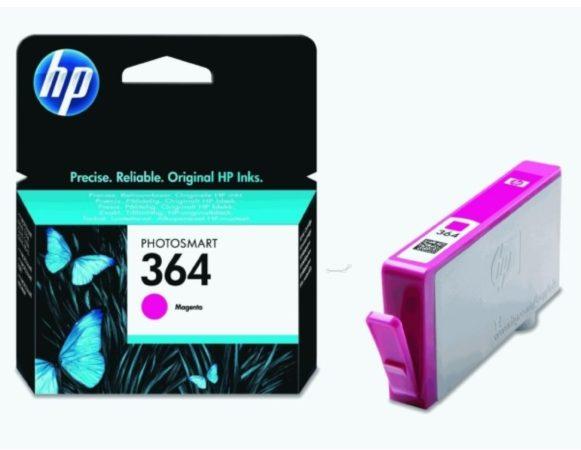 Afbeelding van HP 364 - inkt-magenta - origineel - inktcartridge (CB319EE#BA1)