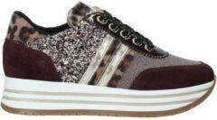 Bordeauxrode Lage Sneakers Nero Giardini I031672F