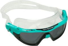 Turquoise Aqua Sphere Vista Pro Swimming Goggles With Tinted Lens - Zwembrillen