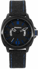 Coolwatch by Prisma CW.331 Kinderhorloge Racer staal/canvas blauw 33 mm
