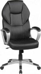 Zwarte Amstyle Bureaustoel - Gamestoel- Directiestoel - Ergonomische Draaistoel - Bureaustoelen Voor Volwassenen