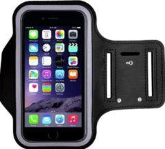 Universele hardloop telefoonhouder armband – geschikt voor telefoons 15cm t/m 16,3cm – Telefoonhouder hardlopen universeel – - o.a. iPhone en Samsung - Zwart