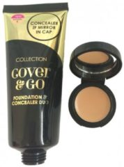 Beige Collection 2000 Collection Foundation & Concealer Duo - 4 Natural
