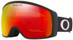 Oakley Flight Tracker XM Skibril Zwart/Rood