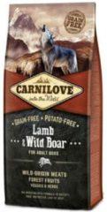 Carnilove Hondenvoer Lam & Wild Zwijn Inhoud - 12 kg