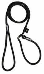 Zwarte Rebel Petz Hondenriem - Trainingslijn - Large 12mm x 140cm - Zwart
