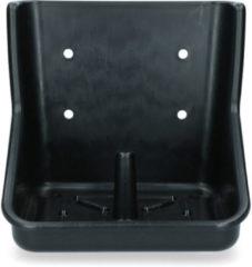 Merkloos / Sans marque Liksteenhouder kunststof Robu 10 kg liksteen zwart
