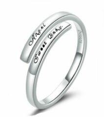Mijn bedels Sterling zilveren ring Mijn engel