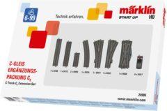 Märklin Start up H0 Märklin C-rails (met ballastbed) 24905 Uitbreidingsset C5