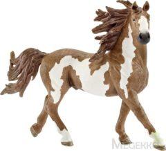 Bruine Schleich Pinto Hengst 13794 - Paard Speelfiguur - Farm World - 16 x 4 x 10,5 cm