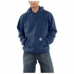 Carhartt - Hooded Sweatshirt - Hoodie maat XL, blauw/zwart