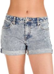 Blue Volcom Stoned Rolled Shorts