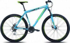 29 Zoll Mountainbike Legnano Andalo 21 Gang Legnano matt-hellblau-grün