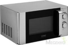 Caso magnetron MG 20 Ecostyle Ceramic Caso zilverkleur/zwart
