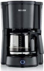 Zwarte Severin KA9554 - Koffiezetapparaat - Dark Inox