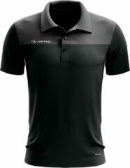 Jartazi Polo Bari Heren Polyester Zwart Maat S