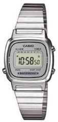 Zilveren Casio Collection LA670WEA-7EF - Horloge - Staal - Zilverkleurig - Ø 25 mm