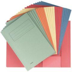 Class'ex dossiermap 3 kleppen formaat 237 x 32 cm (voor formaat A4) geassorteerde kleuren