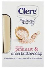Clere - Natural Beauty - Himalayan Pink Salt & Shea Butter - Soap 150g