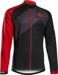 Merida Fietsshirt Lang zwart/rood S