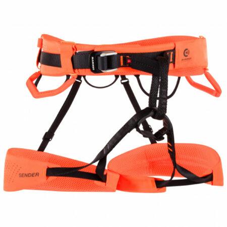Afbeelding van Mammut - Sender Harness - Klimgordel maat S, oranje/rood/zwart