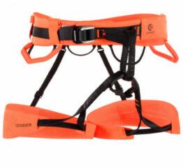 Mammut - Sender Harness - Klimgordel maat S, oranje/rood/zwart