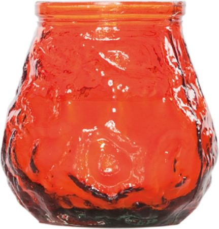 Afbeelding van Cosy&Trendy Cosy & Trendy Mini Lowboy Kaars In Pot - Oranje - 17 Uur (15 Stuks)