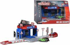 Majorette Creatix-speelset met 1 voertuig - Gran Turismo Pit Stop