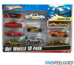 Mattel Hot Wheels 10er Geschenkset Sortiment