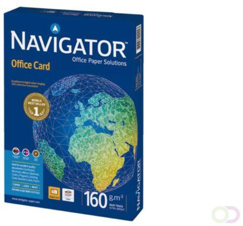 Afbeelding van Navigator Office Card A4 160gr wit 250vel