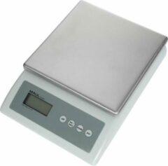 Maul Zählwaage MAULcount, 10 kg Telweegschaal Weegbereik (max.) 10000 g Resolutie 1 g werkt op batterijen, werkt op het lichtnet Grijs